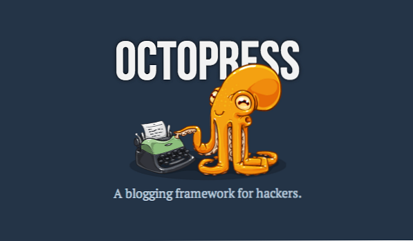Why Octopress?